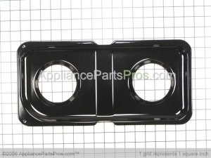 GE WB34K10010 Double Drip Pan  AppliancePartsPros