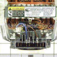 Ge Electric Motor Wiring Diagram 2004 Chevy Impala Radio We17x10010 Dryer Kit Appliancepartspros Com From