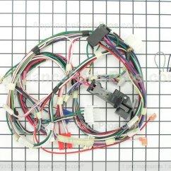 Hotpoint Oven Wiring Diagram 1993 Volvo 240 Ge Wd21x10025 Harness - Appliancepartspros.com