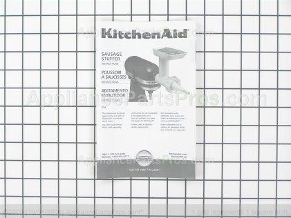 Whirlpool 4164803 Sausage Stuffer Kit (ssa