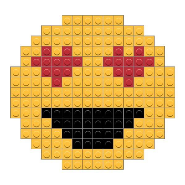 Love Emoji Brik