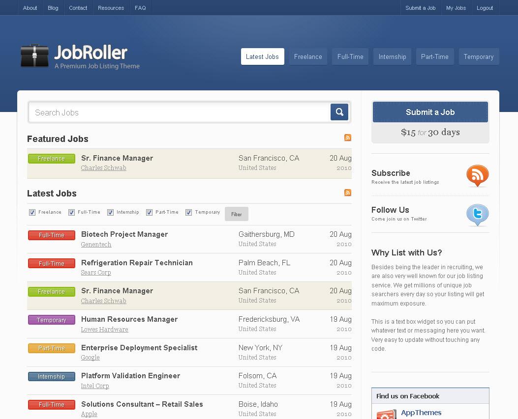 WordPress Job Board Theme