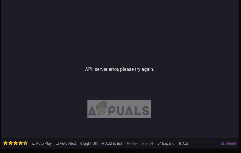 9anime Server Fehler, versuchen Sie es später erneut