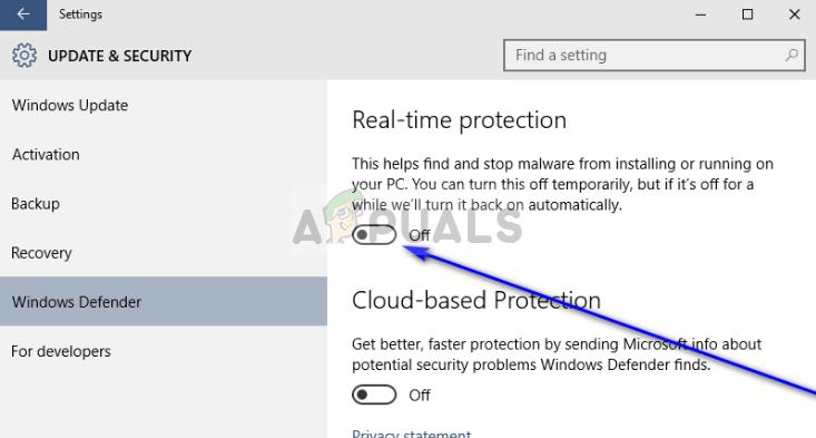 Deaktivieren von Windows Defender - Windows 10