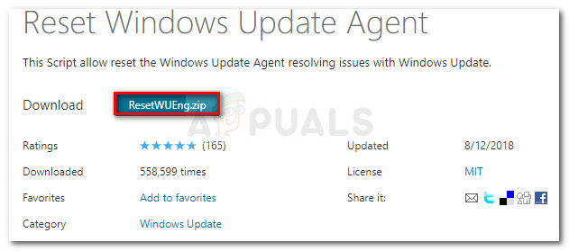 Laden Sie den Windows Update Reset Agent herunter