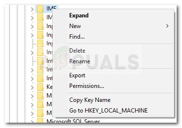 Schlüssel exportieren