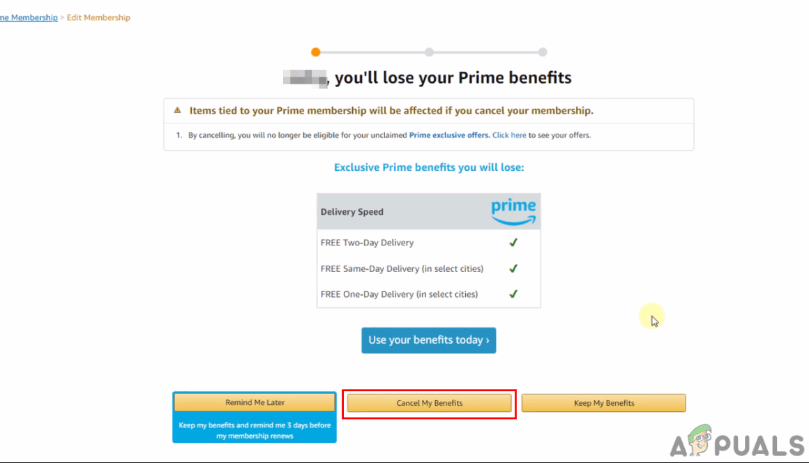 Amazon Prime Abbestellen