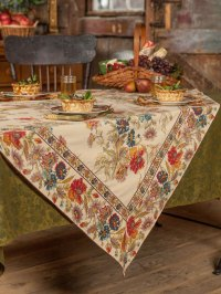 Wildflowers Tablecloth | Linens & Kitchen, Tablecloths ...