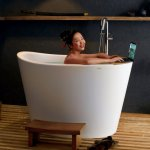 ᐈluxury Aquatica True Ofuro Tranquility Heated Japanese Bathtub Us Version 110v 60hz Best Prices Aquatica