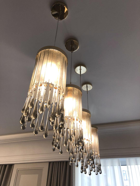 42 modern dining room sets: Lampadari Di Design Per Cucina E Living Multiforme Lighting