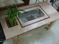 Aquarium Coffee Table | Fannie Ngo | Archinect