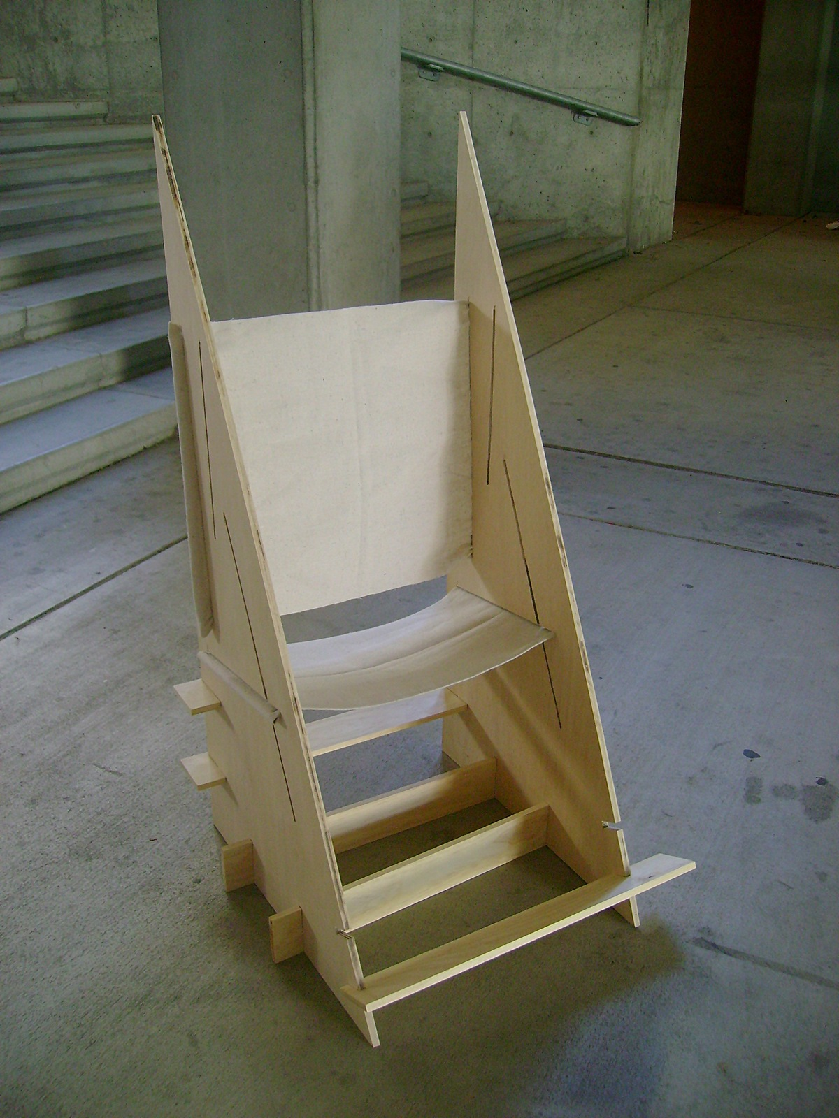flip flop chair log high vellum competition amy chan archinect
