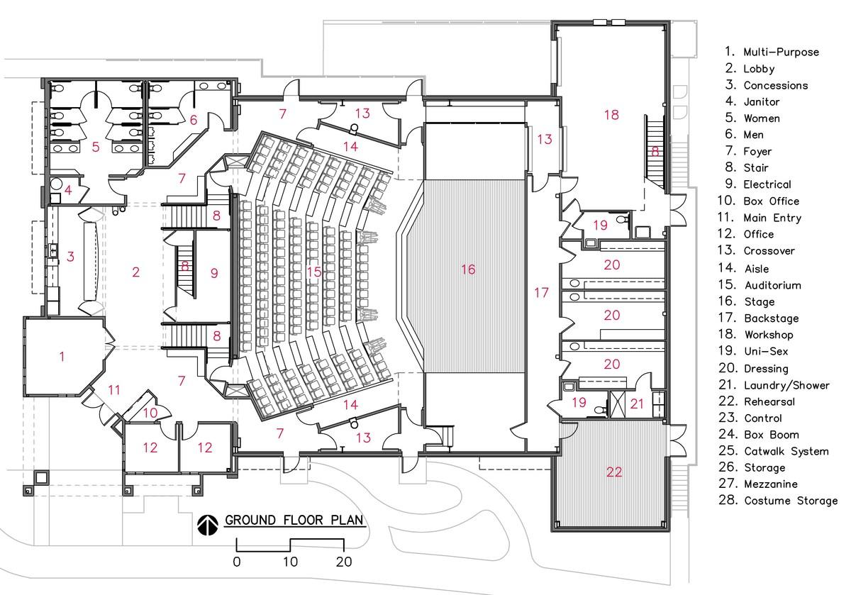 Stunning Floor Plan Theater 18 Photos