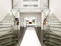 Glass stairs and all glass staircases   Benjamin Friedl ...