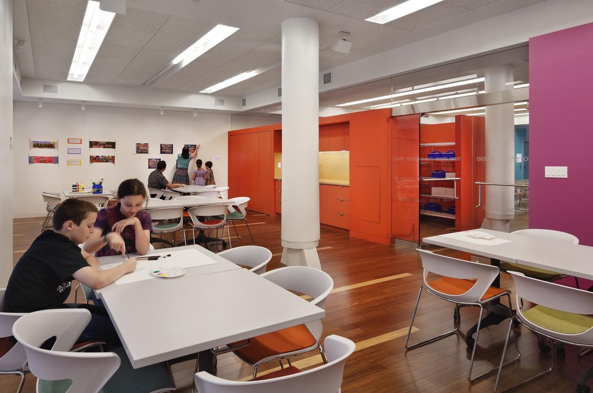 Rubin Museum of Art  Education Center  Lee H Skolnick