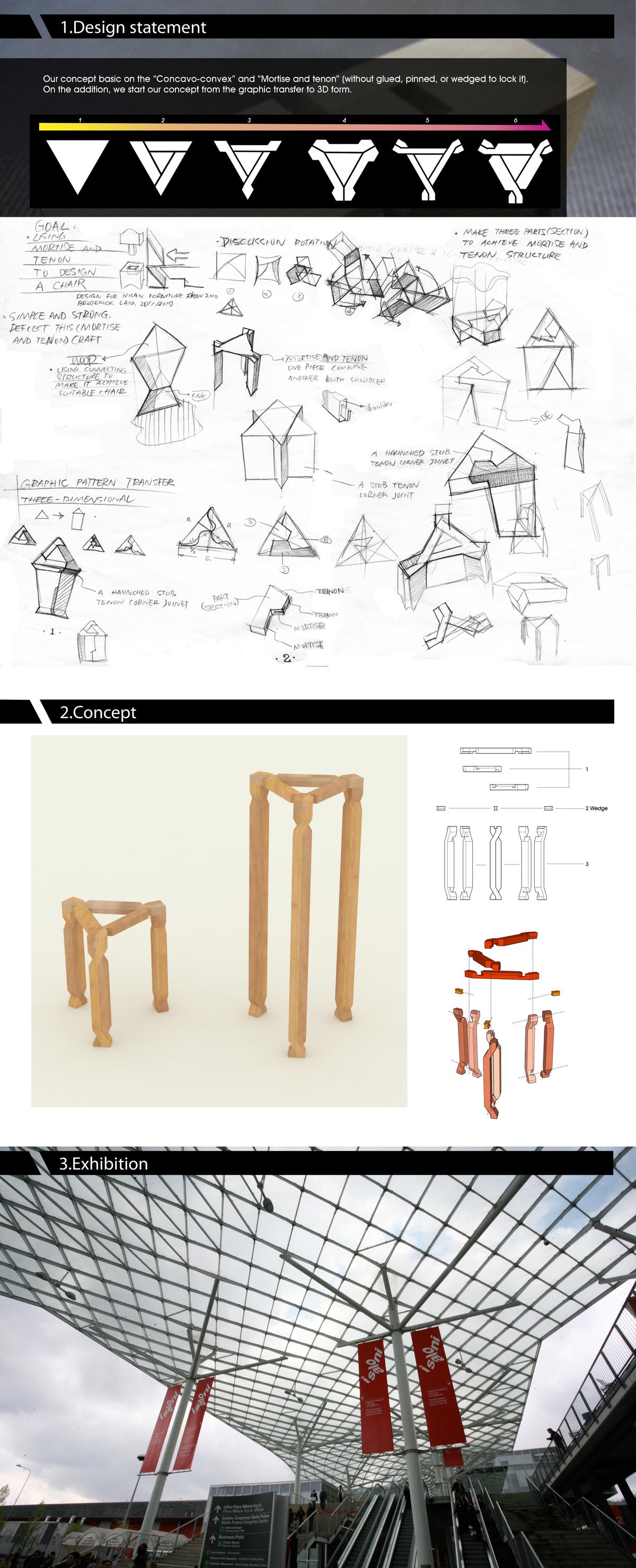 chair experimental design rocking ikea usa jie 解  musen lin archinect