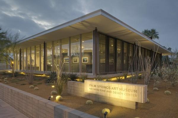 Palm Springs Art Museum Marmol Radziner Archinect