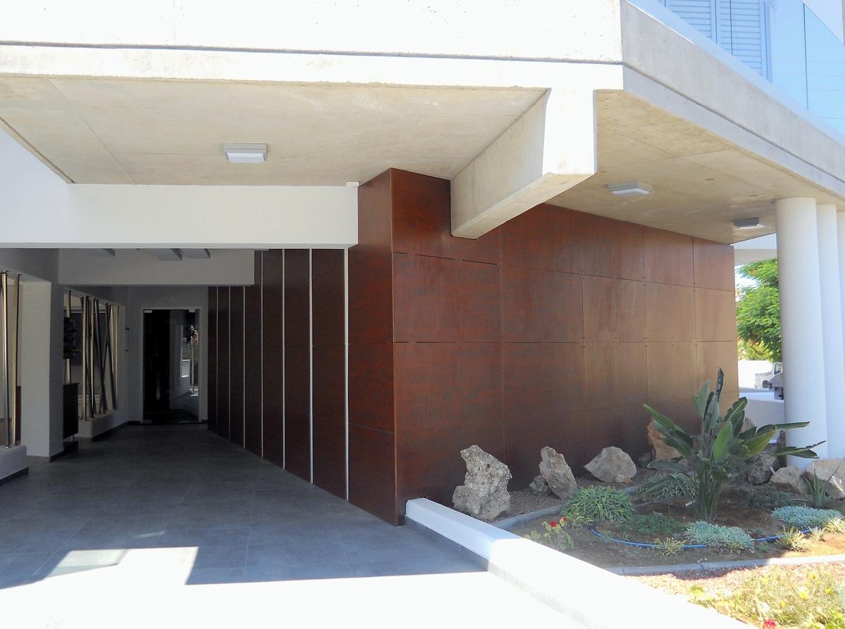 Apartment Building  Lobby Design  Agni Pavlidou