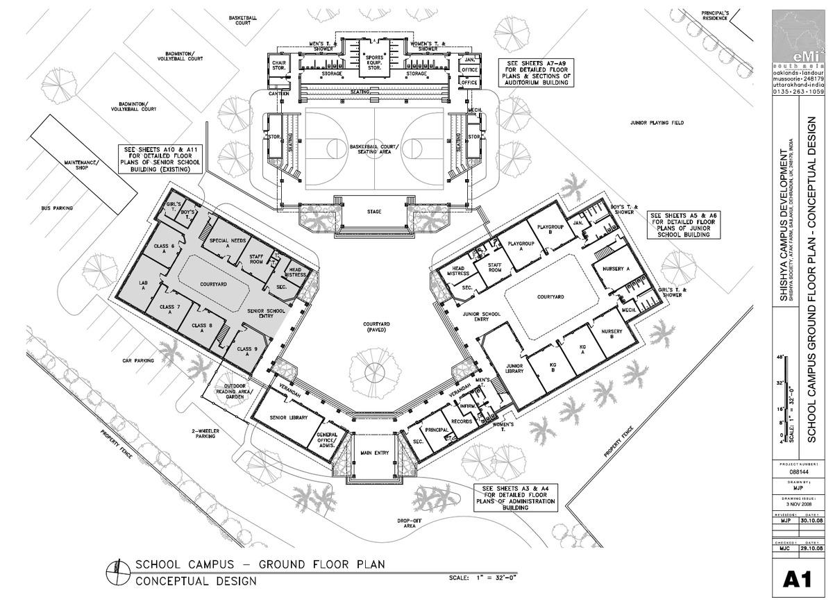 Campus Master Plan Amp School Design For Shishya Society