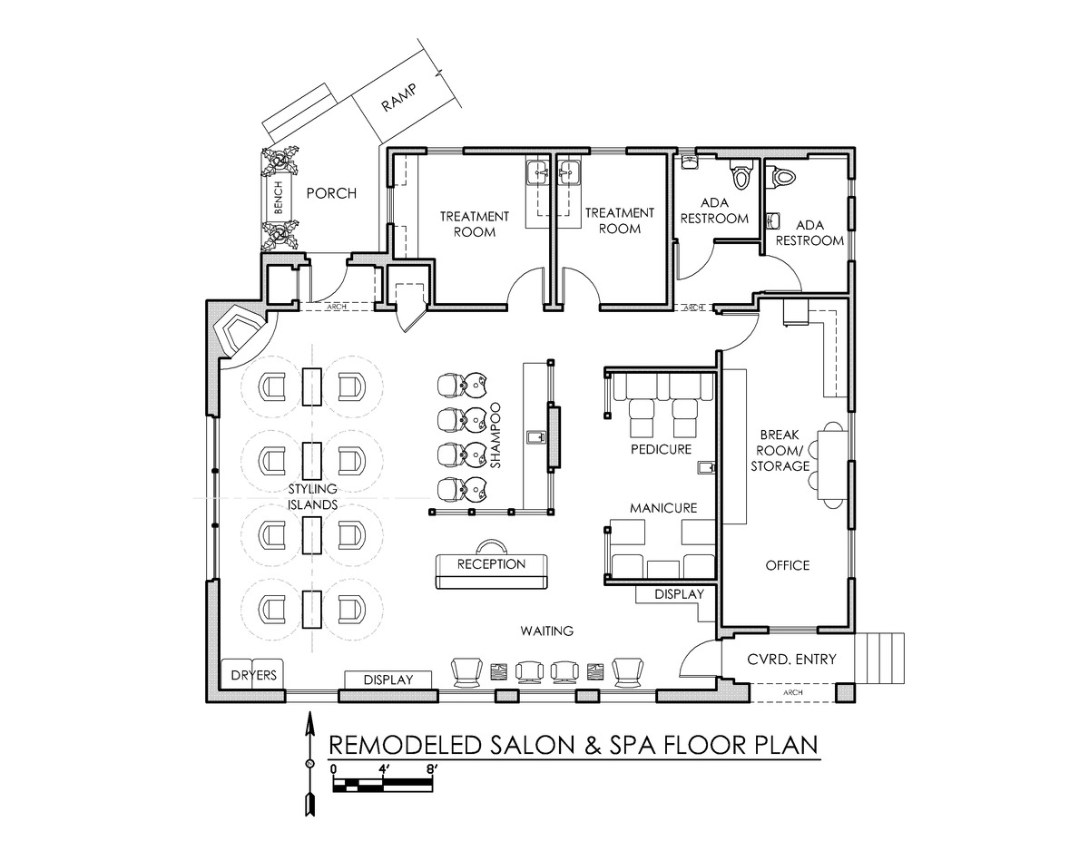 Floor plans, Beauty salon design and Design floor plans on