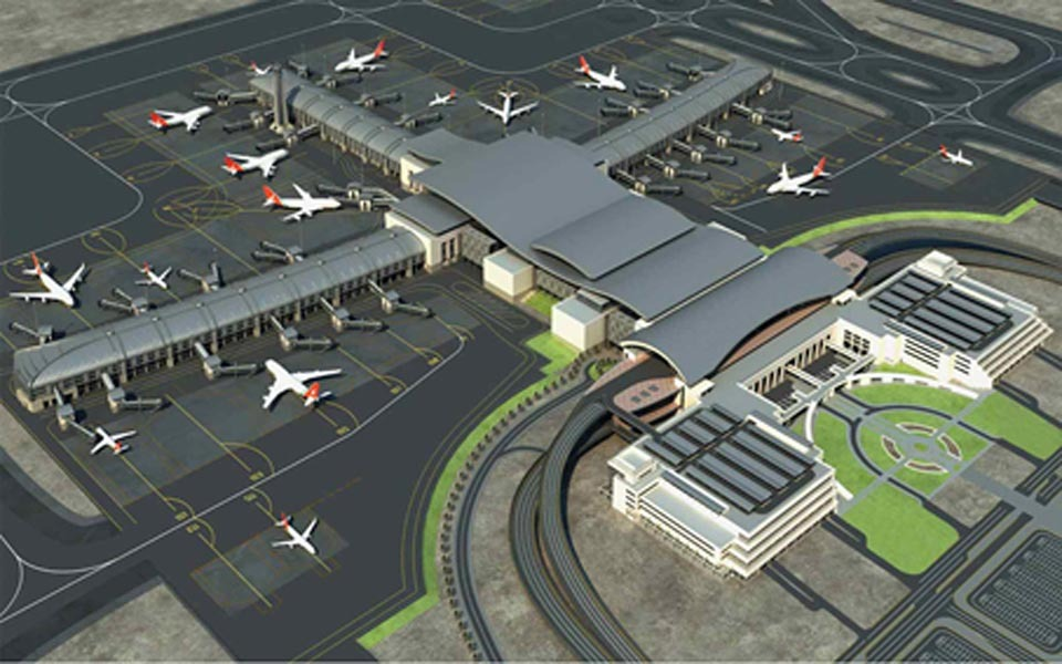 Muscat International Airport  Robert Wochner  Archinect