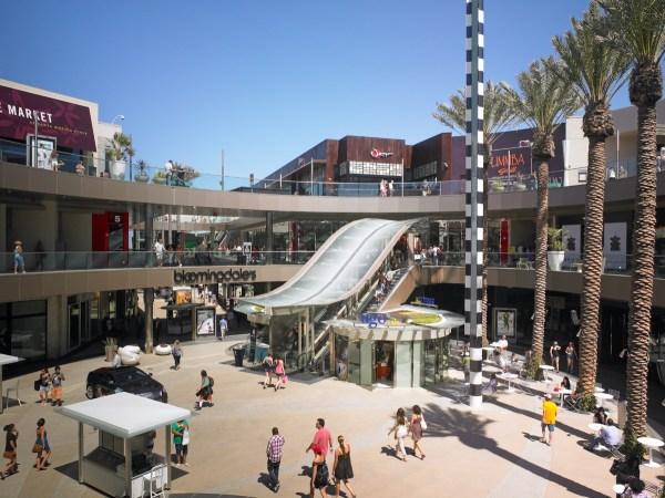 Santa Monica Place Center Court