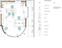 CAD Lighting Plan | Michelle M. Colina | Archinect