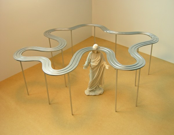 Wandering Mind Of Jesus Conceptual Art Installation