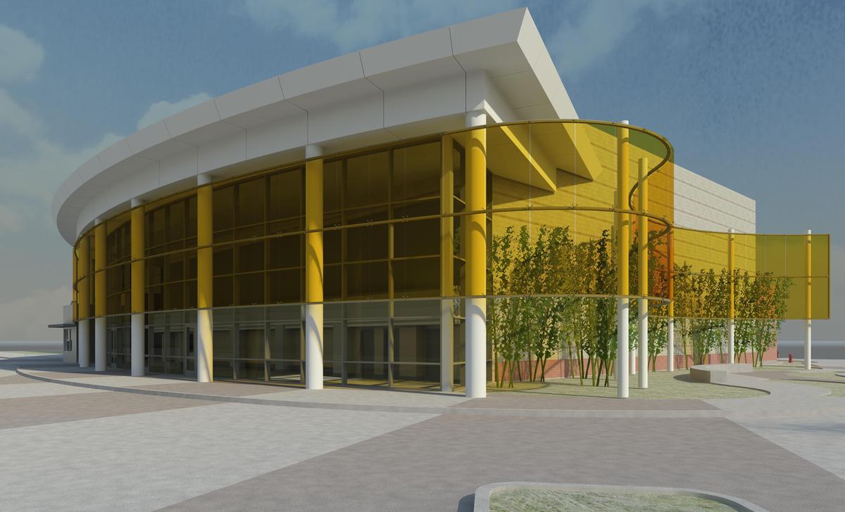 Costa Mesa High School Theater  Ratima Pisalyaput  Archinect