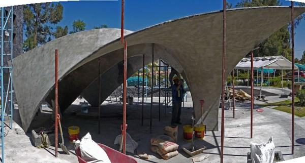 Zaha Hadid Concrete Shell Nathaniel Stanton Archinect