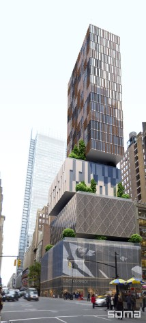 Dream Hotel Times Square Soma Architects Archinect