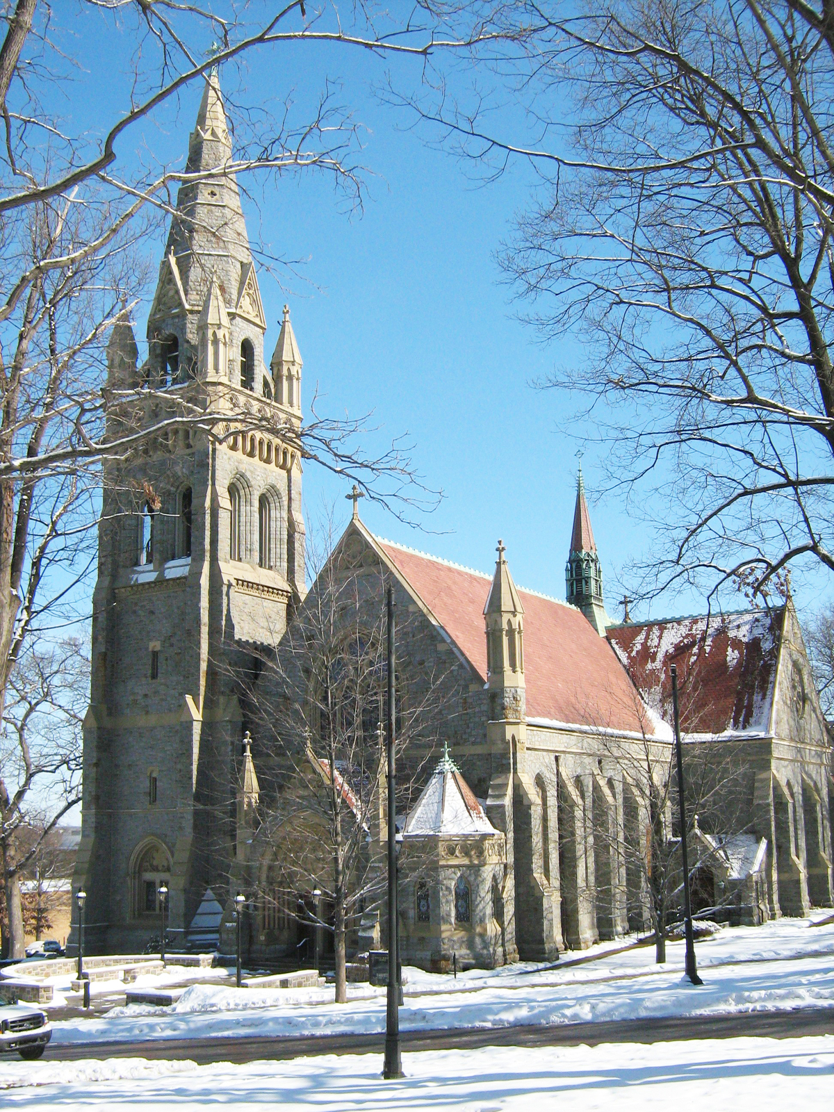 Image result for Packer Memorial Chapel, images