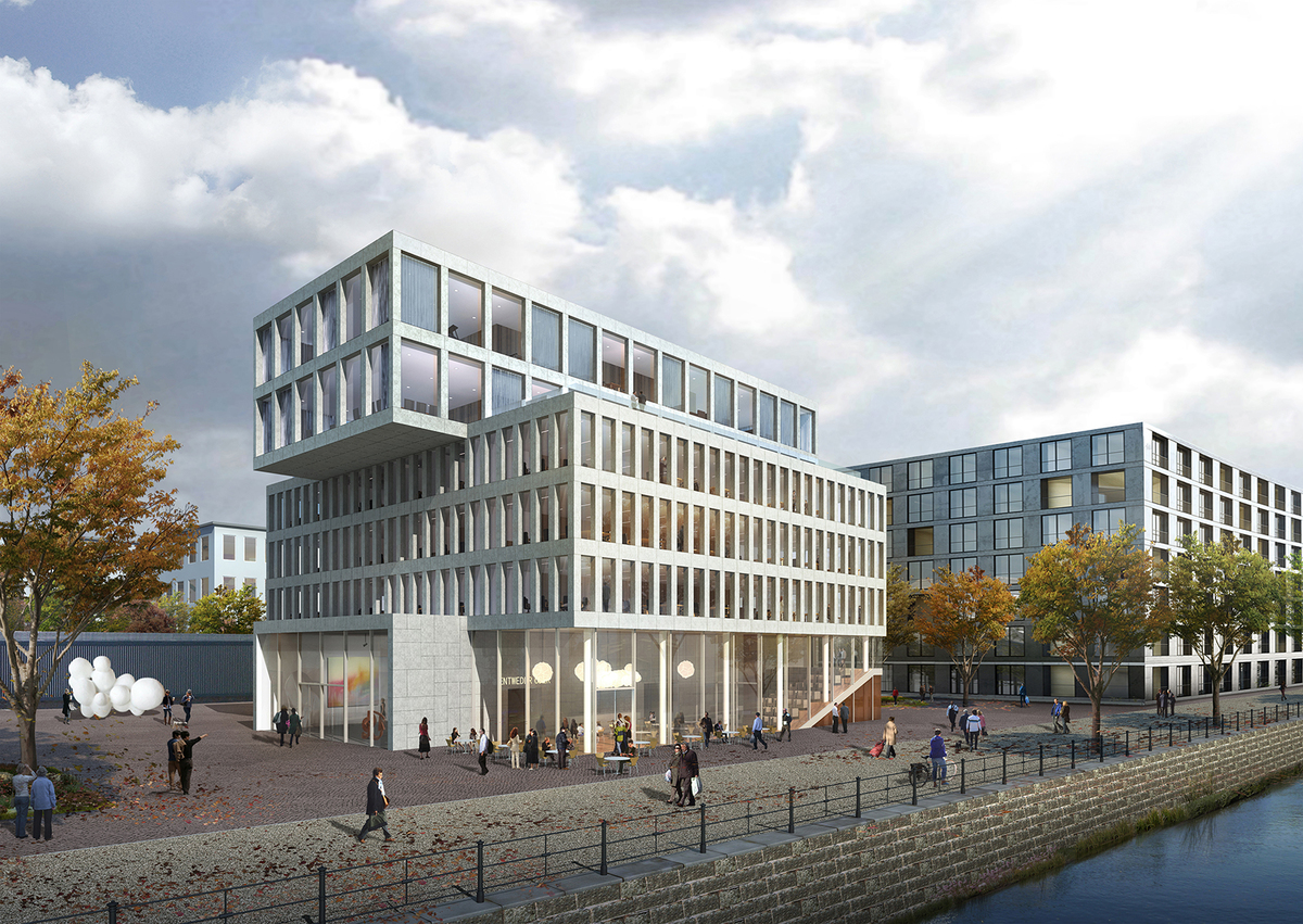 Berlin KunstCampus  BARCODE Architects  Archinect