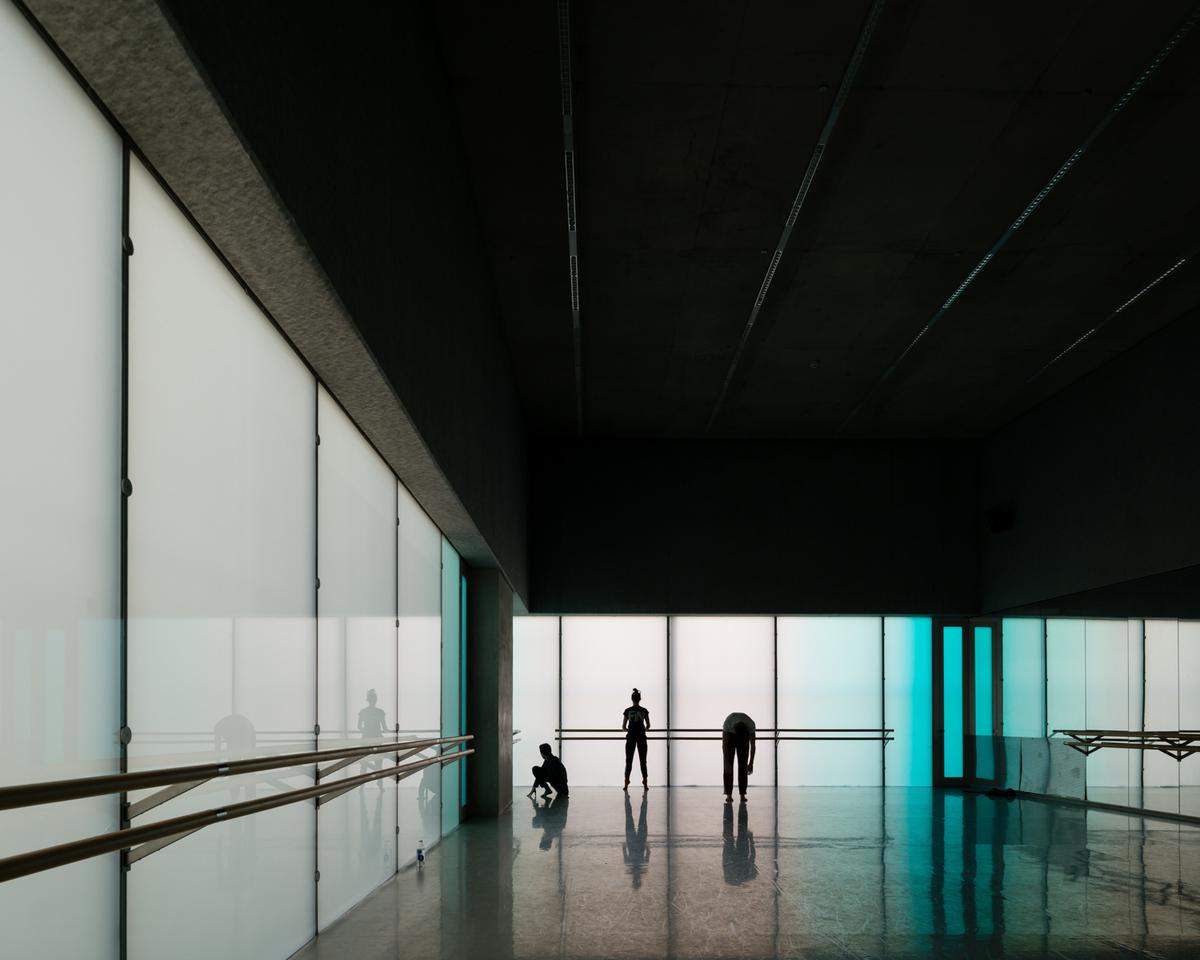 Laban Dance Centre by Herzog & De Meuron, London UK. Courtesy of Jim Stephenson.