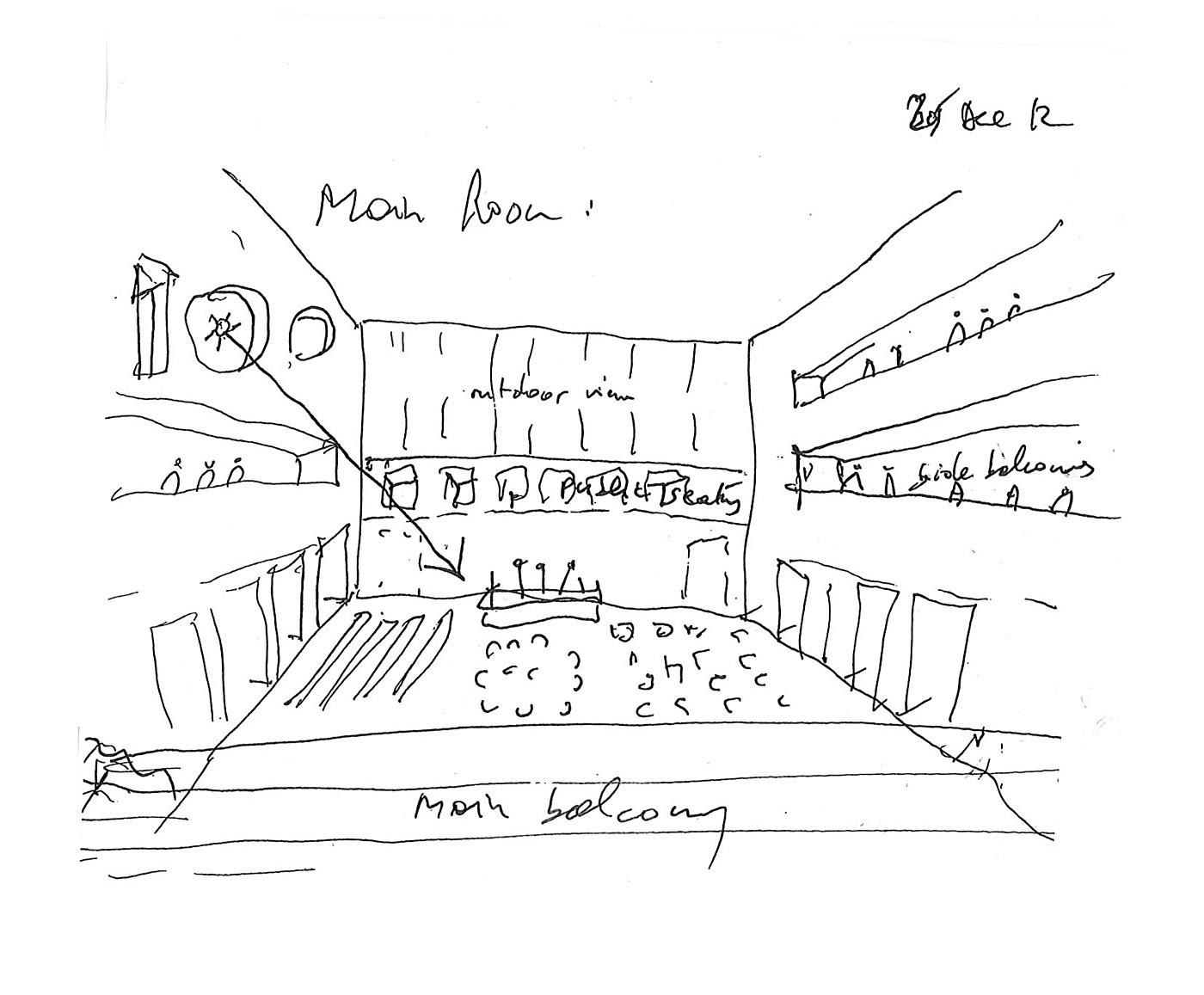 Bernard Tschumi presents Grottammare Cultural Center, his