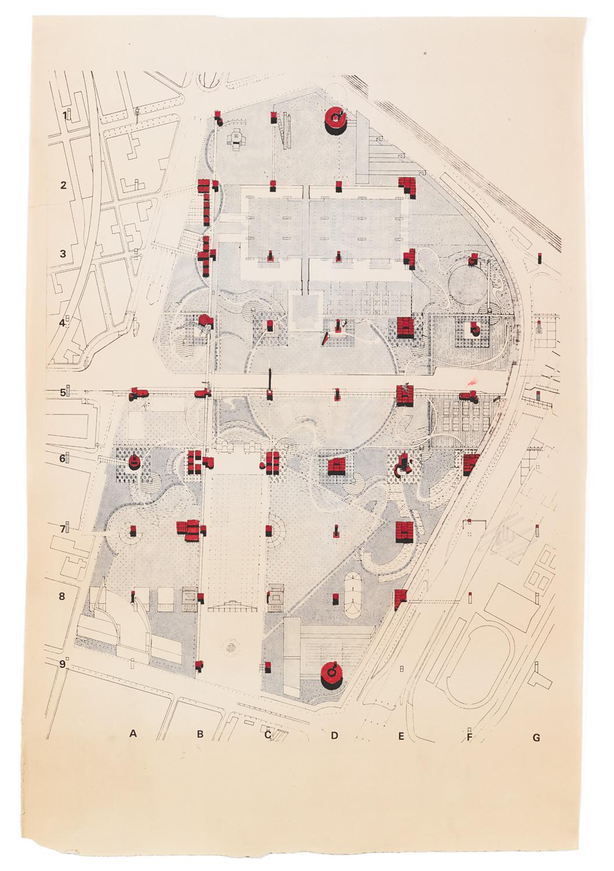 oma parc de la villette diagram light circuit wiring uk bernard tschumi retrospective opens on april 30 at centre