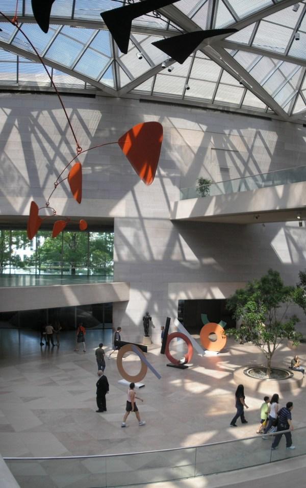 National Of Art East Building Celebrating
