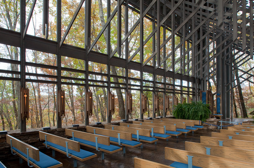 New photos of E Fay Jones Thorncrown Chapel unveiled to
