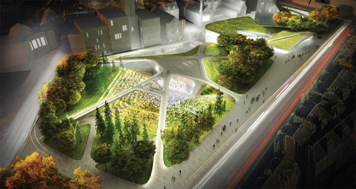 Diller Scofidio + Renfro Beat Out Strong Competition at Aberdeen City Garden Project (1/3)