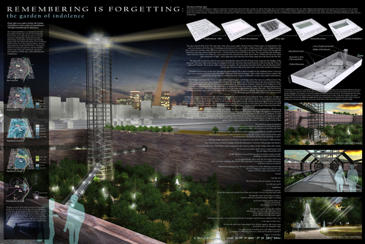 Garden of Indolence - Pruitt-Igoe Now Competition | LIONarchitecture | Archinect