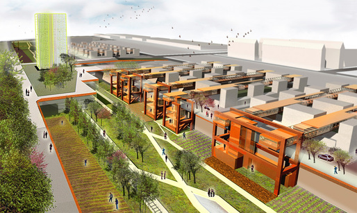 Detail of the competition-winning proposal CLIP UP by Enrico Pintabona, Irene Sapienza, and Gabriele Motta