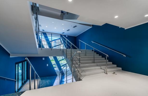 Sport Complex interiors