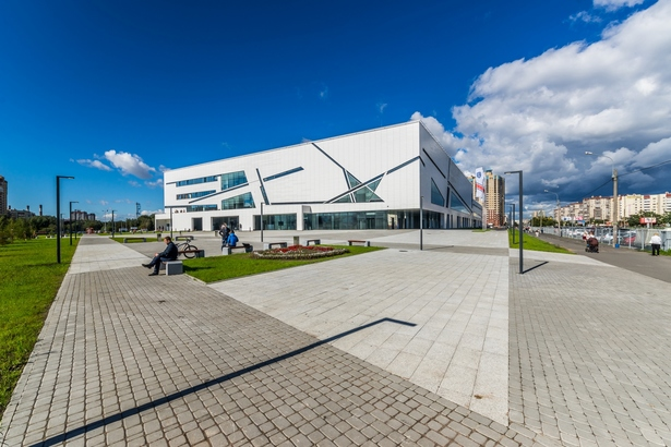 Sport Complex perspective view