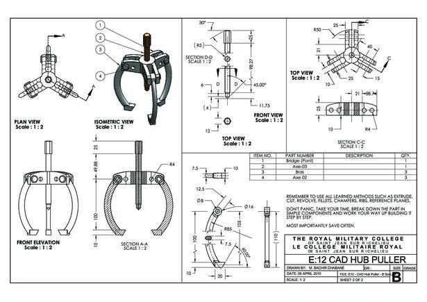CATIA & SOLIDWorks Portfolio BACHIR CHABANE Archinect