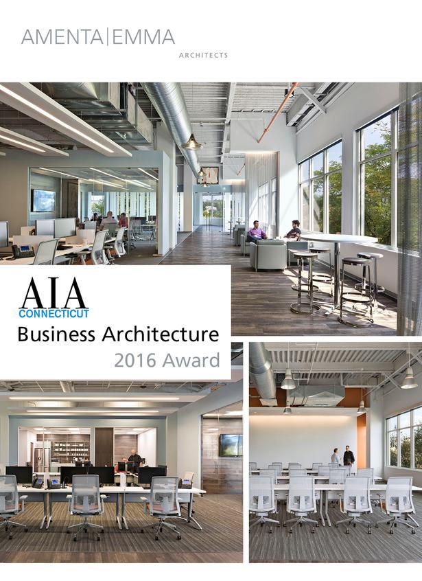Amenta Emma Wins Aia Ct Business Architecture Award