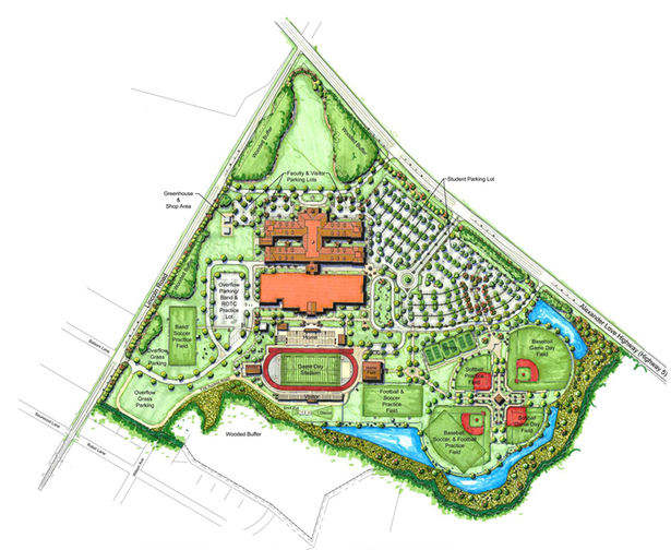 York Comprehensive High School Joseph Fain Archinect