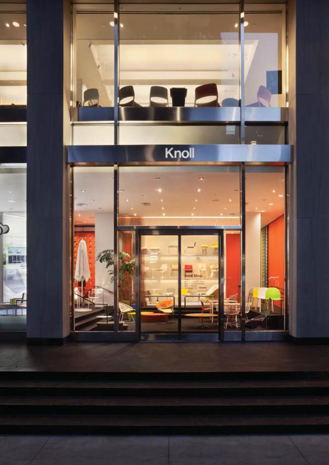 living room drapery ideas photo gallery knoll new york flagship showroom, offices and shop / aro ...