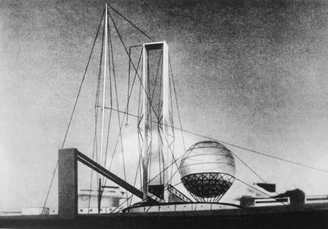 Ivan Leonidovs Proposal For The Lenin Institute In Moscow