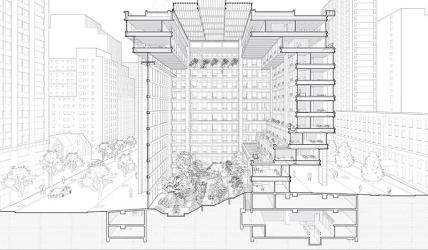 In contemporary architecture the section is the generator Architecture Lab