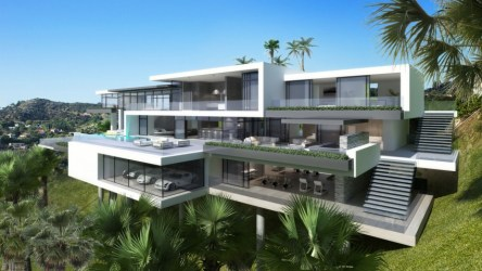 sunset modern drive plaza mansions mansion architecture most wait result final